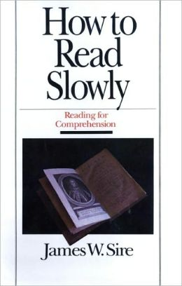 How to Read Slowly