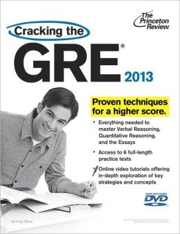 Cracking the GRE with DVD, 2013 Edition
