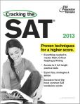 Book Cover Image. Title: Cracking the SAT, 2013 Edition, Author: Princeton Review