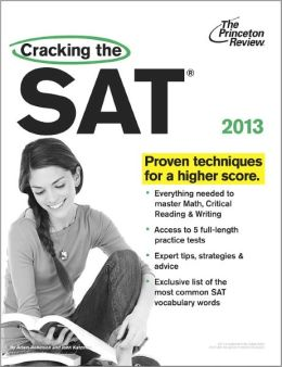 Cracking the SAT, 2013 Edition