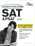 Book Cover Image. Title: 11 Practice Tests for the SAT and PSAT, 2013 Edition, Author: Princeton Review