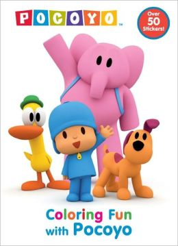 Coloring Fun with Pocoyo (Pocoyo)