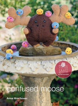 Confused Moose: E-Pattern from Knitting Mochimochi