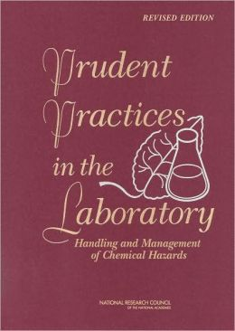 Prudent Practices in the Laboratory: Handling and Disposal of Chemicals