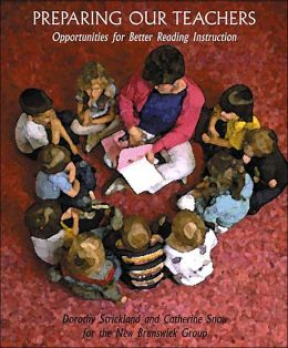 Preparing Our Teachers: Opportunities for Better Reading Instruction