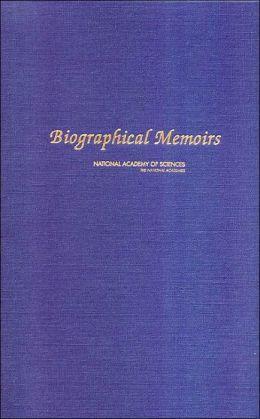 Biographical Memoirs: V.83