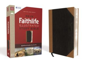 NKJV, Faithlife Illustrated Study Bible, Imitation Leather, Black/Tan, Red Letter Edition: Biblical Insights You Can See