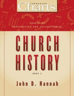 Charts of Reformation and Enlightenment Church History (Zondervancharts Series)