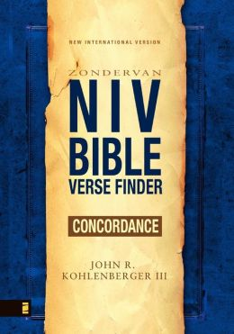 NIV Bible Verse Finder