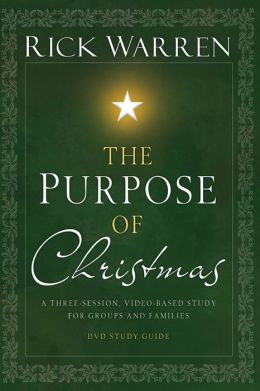 The Purpose of Christmas DVD Study Guide