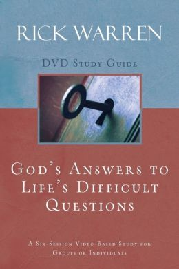God's Answers to Life's Difficult Questions: A Six-Session Video-Based Study for Groups or Individuals