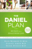 Book Cover Image. Title: The Daniel Plan:  40 Days to a Healthier Life, Author: Rick Warren