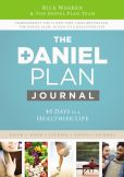 Book Cover Image. Title: Daniel Plan Journal:  40 Days to a Healthier Life, Author: Rick Warren