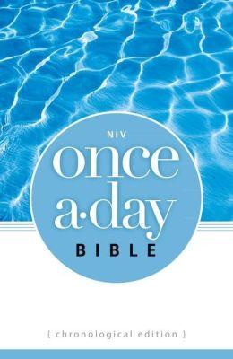NIV Once-A-Day Bible: Chronological Edition