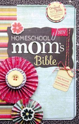 NIV Homeschool Mom's Bible: Daily Personal Encouragement
