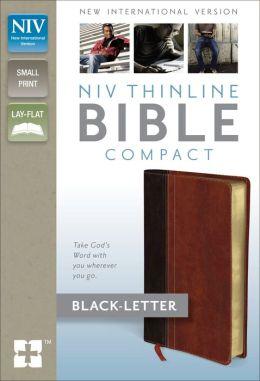 NIV Thinline Bible, Compact