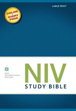 NIV Study Bible, Large Print