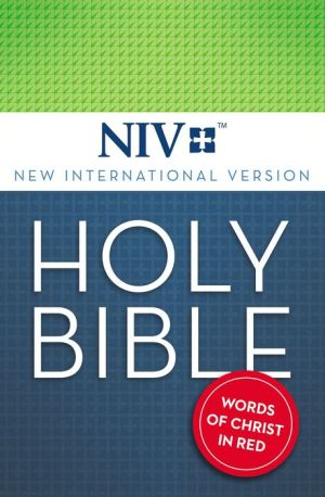 NIV Holy Bible: New International Version, Red Letter Edition
