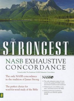 Strongest NASB Exhaustive Concordance Super Saver