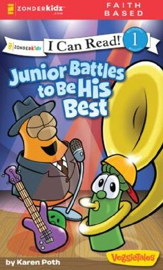 Junior Battles to Be His Best (VeggieTales Series: I Can Read!)