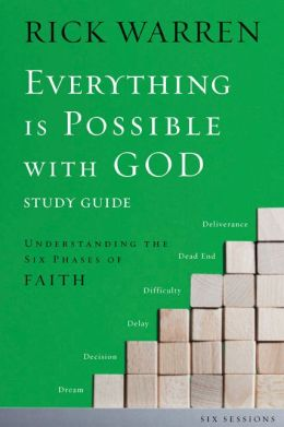 Everything Is Possible with God Pack: Understanding the Six Phases of Faith