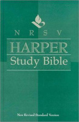 NRSV Harper Study Bible