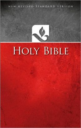 NRSV Ministry/Pew Bible: New Revised Standard Version, red softcover