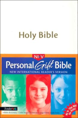 Children's Personal Gift Bible: New International Reader's Version (NIrV), white imitation leather