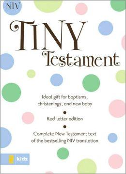NIV Tiny Testament Bible
