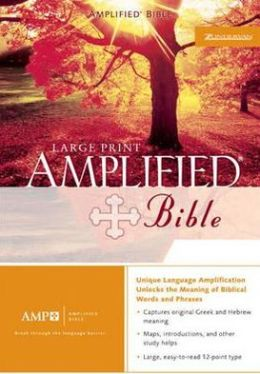 Amplified Bible, Purple Silver Gilding JMM