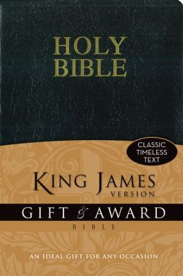 King James Version Gift& Award Bible