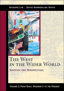 West in Wider World: Sources and Perspectives from Early Modernity to the Present