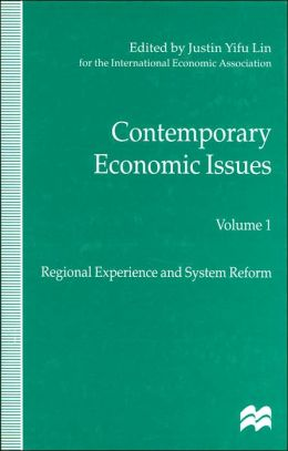 Contemporary Economic Issues Vol 1