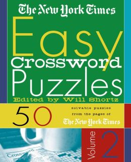 New York Times Easy Crossword Puzzles, Volume 2