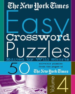 New York Times Easy Crossword Puzzles: 50 Solvable Puzzles