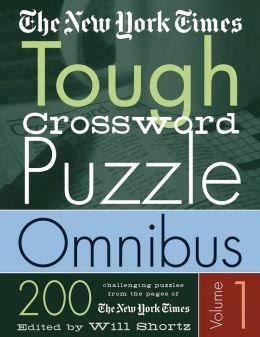 New York Times Tough Crossword Puzzle Omnibus