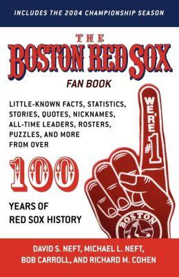 Boston Red Sox Fan Book