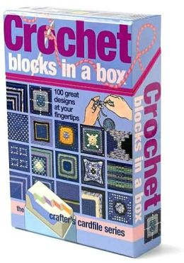 Crochet Blocks in a Box: 50 Great Designs at Your Fingertips