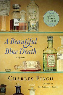 A Beautiful Blue Death (Charles Lenox Series #1)