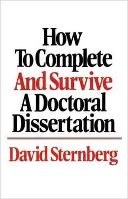 Phd dissertation help library