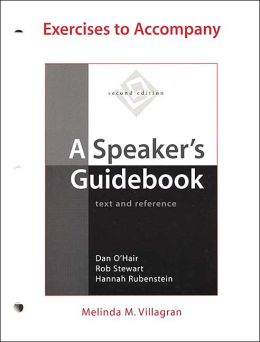 Exercises to Accompany A Speaker's Guidebook