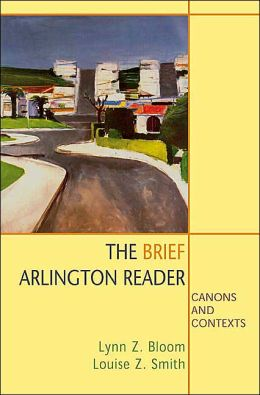 Brief Arlington Reader: Canons and Contexts