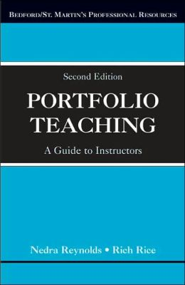 Portfolio Teaching: A Guide for Instructors