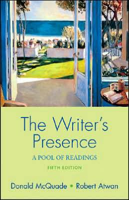 Writer's Presence: A Pool of Readings