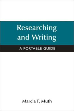 Researching and Writing: A Portable Guide