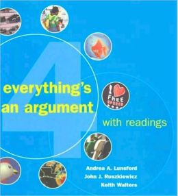 Everything's an Argument with Readings 4e & IX Visual Exercises