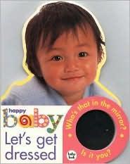 Let's Get Dressed: Large Format Baby Book