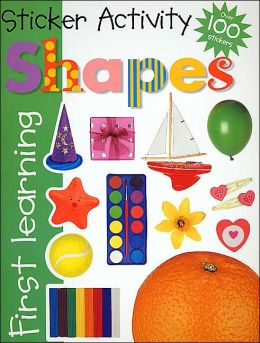 Shapes: Sticker Activity