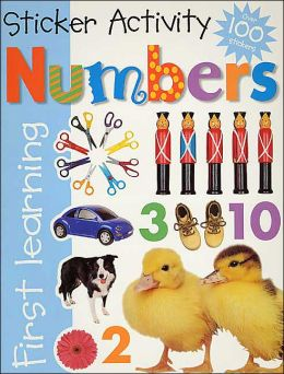 Numbers: Sticker Activity