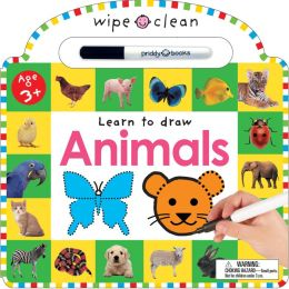 Learn to Draw Animals: 26 Wipe-Clean Pages of Early Learning Fun